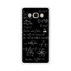 Funda Gel Tpu para Samsung Galaxy J5 (2016) Diseño Formulas Dibujos