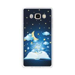 Funda Gel Tpu para Samsung Galaxy J5 (2016) Diseño Libro-Cuentos Dibujos
