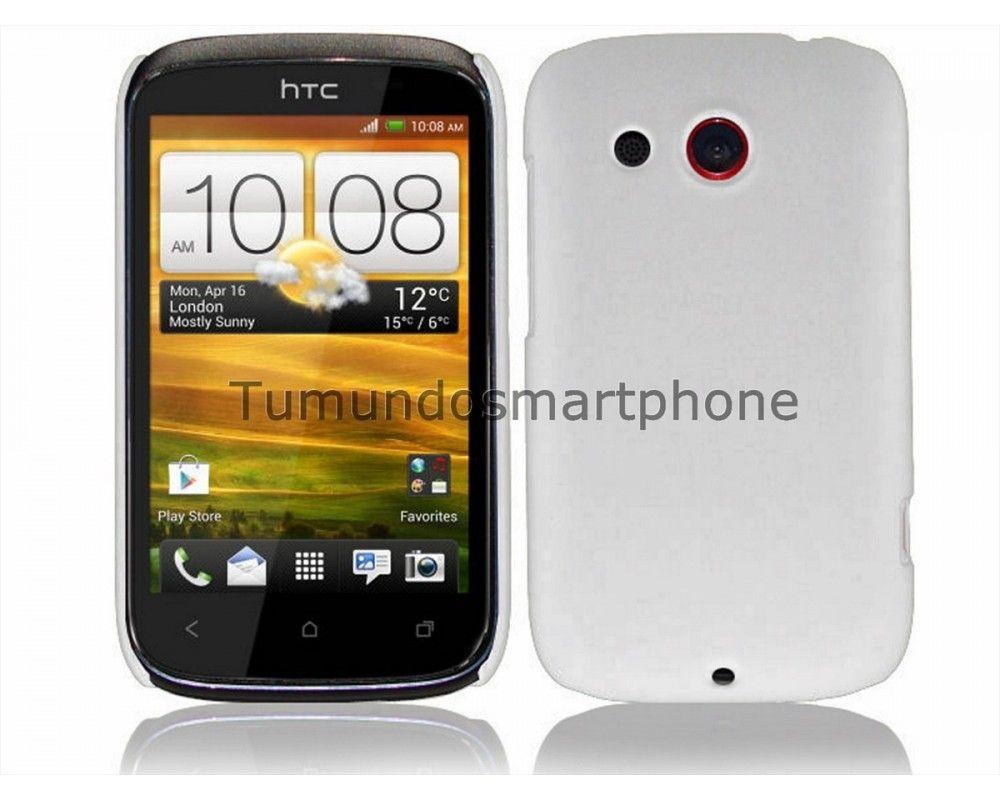 Carcasa Dura HTC Desire C Color Blanca