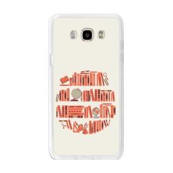 Funda Gel Tpu para Samsung Galaxy J7 (2016) Diseño Mundo-Libro Dibujos