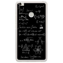 Funda Gel Tpu para Xiaomi Mi Max Diseño Formulas Dibujos
