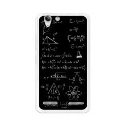 Funda Gel Tpu para Lenovo K5 Diseño Formulas Dibujos
