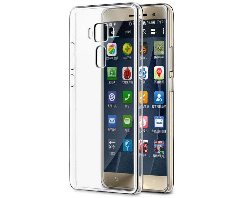 "Funda Gel Tpu Fina Ultra-Thin 0,3mm Transparente para Asus Zenfone 3 5.5"" Ze552Kl"