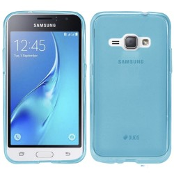 Funda Gel Tpu Samsung Galaxy J1 (2016) Color Azul