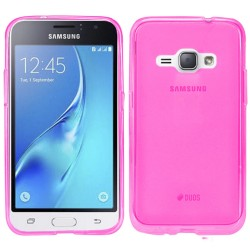 Funda Gel Tpu Samsung Galaxy J1 (2016) Color Rosa