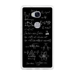 Funda Gel Tpu para Huawei Honor 5X Diseño Formulas Dibujos