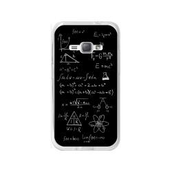 Funda Gel Tpu para Samsung Galaxy J1 (2016) Diseño Formulas Dibujos