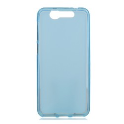 Funda Gel Tpu Zte Blade S7 Color Azul