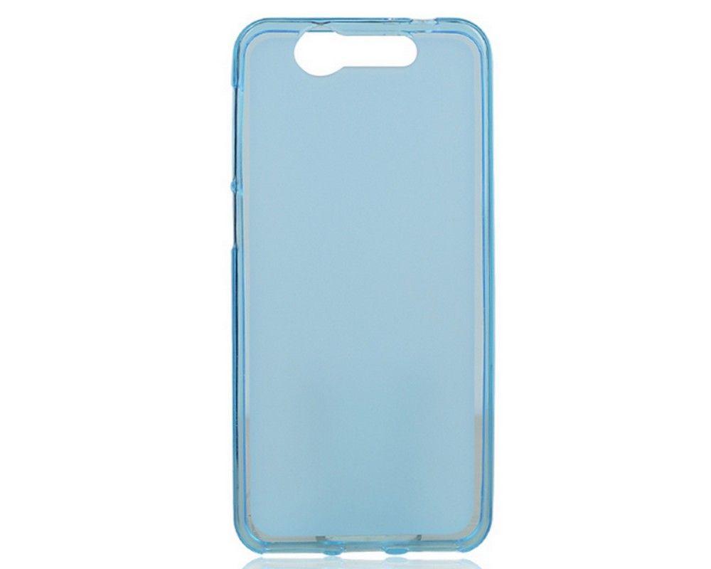 Funda Gel Tpu Zte Blade S7 Color Azul