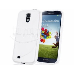 Funda Gel Tpu Samsung Galaxy S4 I9500 S Line Color Blanca
