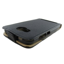 Funda Piel Premium Ultra-Slim Huawei Y3 II Negra