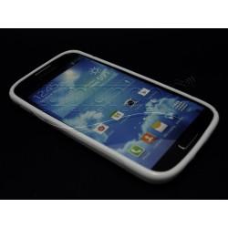 Funda Gel Tpu Samsung Galaxy S4 I9500 S Line Color Blanca