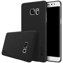 Carcasa Funda Nillkin Negra Modelo Frosted + Protector para Samsung Galaxy Note 7