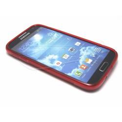 Funda Gel Tpu Samsung Galaxy S4 I9500 S Line Color Roja
