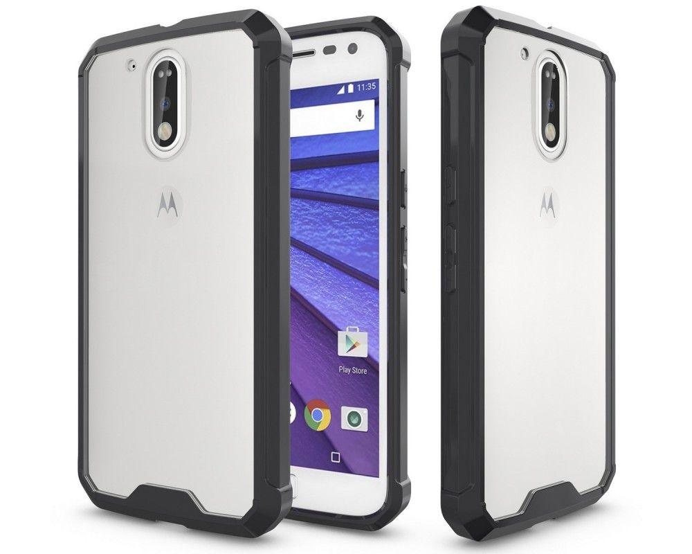 d26d2171884 Funda Tipo Air Hybrid (Pc+Tpu) Negra para Motorola Moto G4 / G4 Plus ...