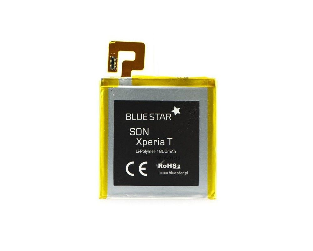 Bateria Interna Blue Star Premium para Sony Xperia T Lt30P 1800 mAh
