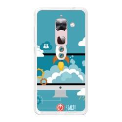 Funda Gel Tpu para Letv Le Max 2  Diseño Cohete Dibujos