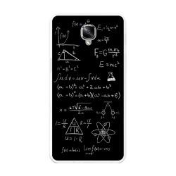 Funda Gel Tpu para Oneplus 3 / 3T Diseño Formulas Dibujos