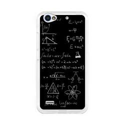 Funda Gel Tpu para Zte Blade A460 Diseño Formulas Dibujos