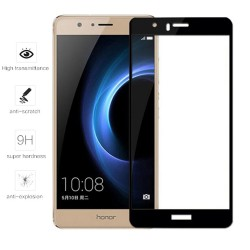 Protector Cristal Templado Frontal Completo Blanco para Huawei Honor 8  Vidrio