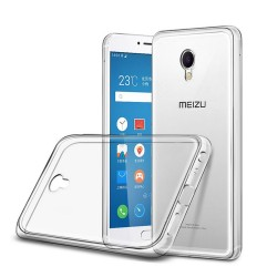 Funda Gel Tpu Fina Ultra-Thin 0,3mm Transparente para Meizu M3E