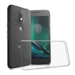 Funda Gel Tpu Fina Ultra-Thin 0,3mm Transparente para Motorola Moto G4 Play