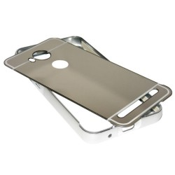 Funda Bumper Plata Aluminio + Tapa Trasera para Huawei Y3 II