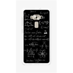 """Funda Gel Tpu para Asus Zenfone 3 5.5"""" Ze552Kl Diseño Formulas Dibujos"""