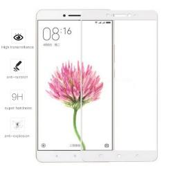 Protector Cristal Templado Frontal Completo Blanco para Xiaomi Mi Max Vidrio