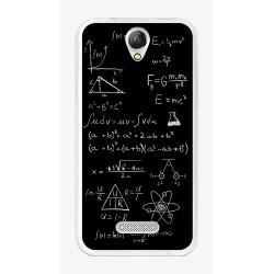 Funda Gel Tpu para Doogee X6S / X6 / X6 Pro Diseño Formulas Dibujos