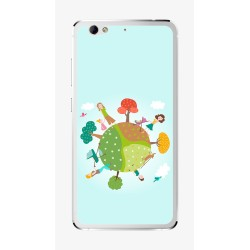 Funda Gel Tpu para Weimei We Plus Diseño Familia Dibujos