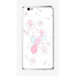 Funda Gel Tpu para Weimei We Plus Diseño Flores-Minimal Dibujos