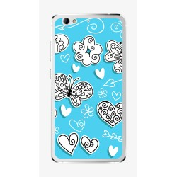 Funda Gel Tpu para Weimei We Plus Diseño Mariposas Dibujos