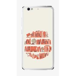 Funda Gel Tpu para Weimei We Plus Diseño Mundo-Libros Dibujos