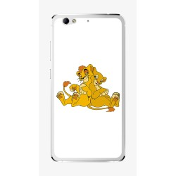 Funda Gel Tpu para Weimei We Plus Diseño Leones Dibujos