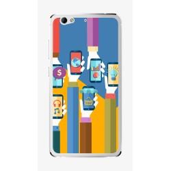 Funda Gel Tpu para Weimei We Plus Diseño Apps Dibujos