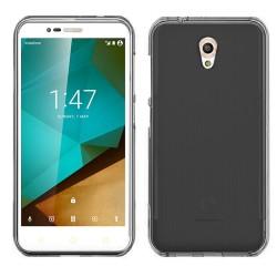 Funda Gel Tpu para Vodafone Smart Prime 7 Color Negra