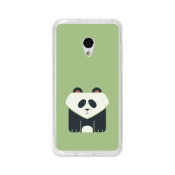 "Funda Gel Tpu para Meizu M3 Mini / M3S 5"" Diseño Panda Dibujos"