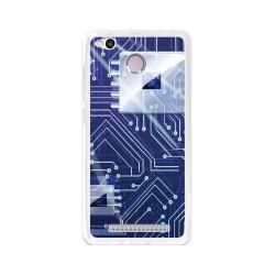 Funda Gel Tpu para Xiaomi Redmi 3S / 3x / 3 Pro Diseño Circuito Dibujos