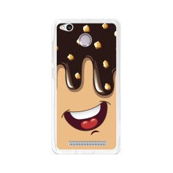 Funda Gel Tpu para Xiaomi Redmi 3S / 3x / 3 Pro Diseño Helado Chocolate Dibujos