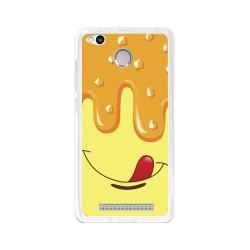 Funda Gel Tpu para Xiaomi Redmi 3S / 3x / 3 Pro Diseño Helado Vainilla Dibujos