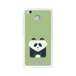 Funda Gel Tpu para Xiaomi Redmi 3S / 3x / 3 Pro Diseño Panda Dibujos