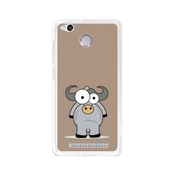 Funda Gel Tpu para Xiaomi Redmi 3S / 3x / 3 Pro Diseño Toro Dibujos