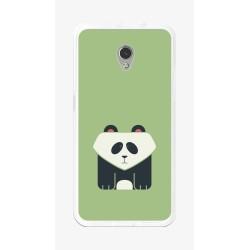 Funda Gel Tpu para Zte Blade V7 Diseño Panda Dibujos