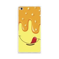 Funda Gel Tpu para Huawei P8 Lite Diseño Helado Vainilla Dibujos