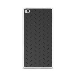 Funda Gel Tpu para Huawei P8 Lite Diseño Metal Dibujos