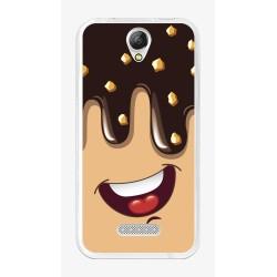 Funda Gel Tpu para Doogee X6S / X6 / X6 Pro Diseño Helado Chocolate Dibujos