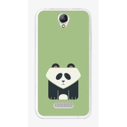 Funda Gel Tpu para Doogee X6S / X6 / X6 Pro Diseño Panda Dibujos