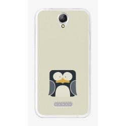 Funda Gel Tpu para Doogee X6S / X6 / X6 Pro Diseño Pingüino Dibujos