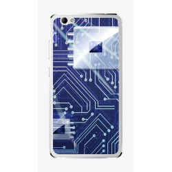 Funda Gel Tpu para Weimei We Plus Diseño Circuito Dibujos